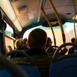 Accidente como pasajero de un servicio público